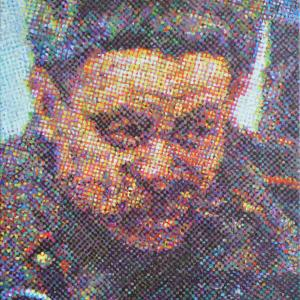 PERSONAJE Nº20, 2014. Óleo sobre lino. 35 x 33 cm