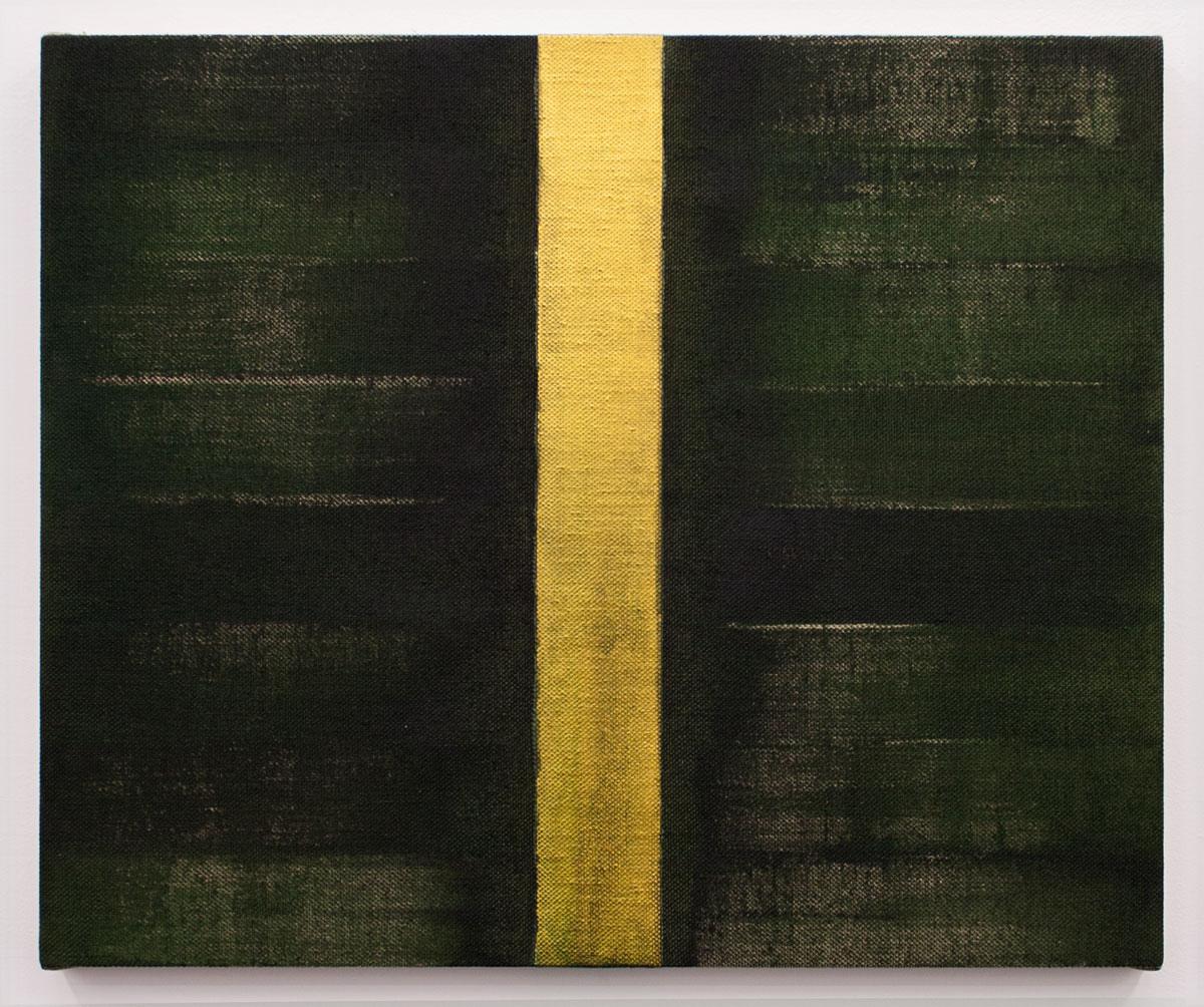 PENUMBROSO V, 2015. Acrílico sobre lino. 54 x 65 cm