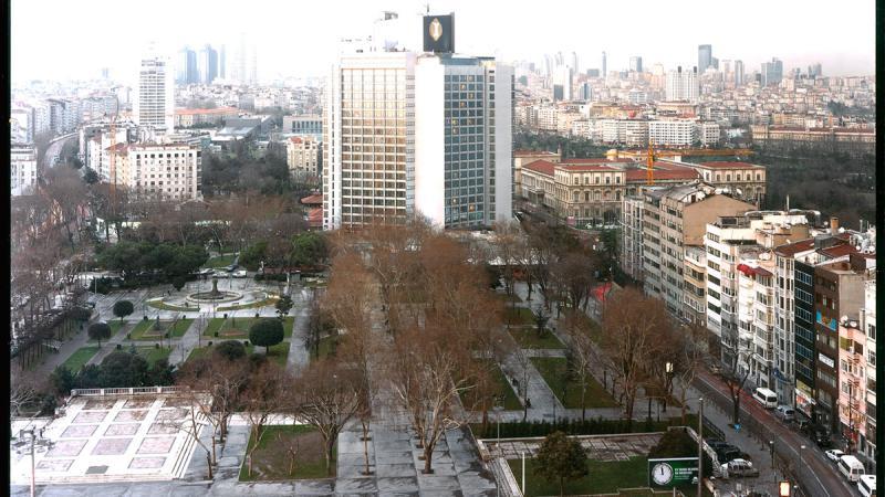 ISTANBUL, 2010. Ink jet print sobre tela. 234 x 300 cm.