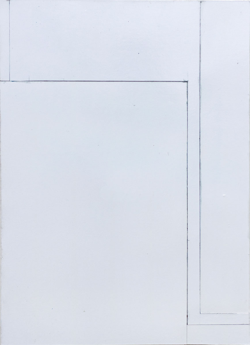 S/T (Otro cuadro secreto M.R.), 2016. Collage. 28.5 x 20.5 cm