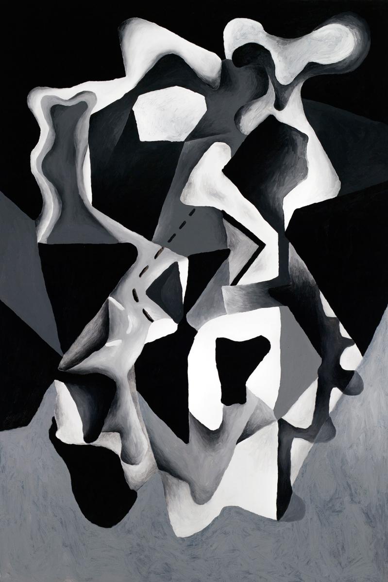 SEM TÍTULO A, 2017. Óleo sobre lienzo. 150 x 100 cm