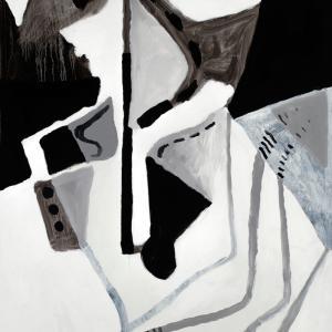 SEM TÍTULO E, 2017. Óleo sobre lienzo. 150 x 100 cm