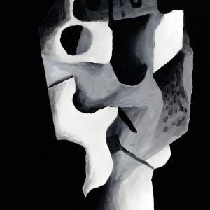 SEM TÍTULO, 2017. Óleo sobre lienzo. 60 x 40 cm