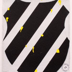 K-SWISS, 2017. Acrílico y acuarela sobre papel. 27.5 x 24 cm