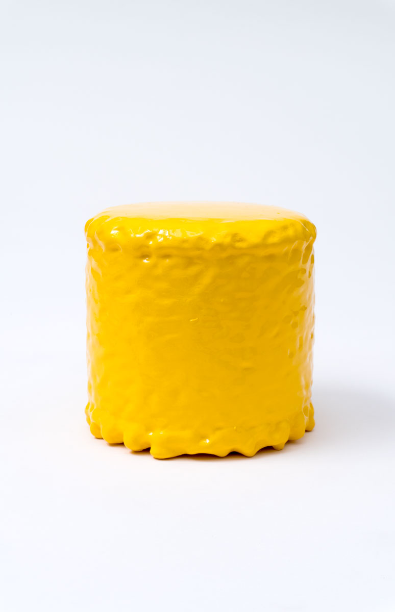 QUI CUSTODIETIPSOS CUSTODES (Sol). Acrílico sobre metal. 11.3 x 12 cm de diámetro. JP-0029