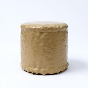 QUI CUSTODIETIPSOS CUSTODES (Tabaco). Acrílico sobre metal. 11.5 x 12 cm de diámetro. JP-0030