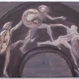 SEM TÍTULO, 2019. Óleo sobre lienzo. 24 x 33 cm. GP-0025