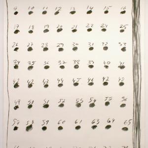 SEM TÍTULO, 2019.Carboncillo sobre papel.100 x 71 cm. GP-0040